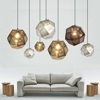 Newest Art Metal Ball Pendant Light Geometry Bar Polyhedral ...
