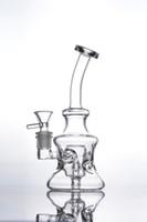 Вода стекло пипсы ресайклер Торо 2017 новый стеклянный бонг рециркуляции нефти буровой установки кальяны 14 мм совместных мини пьянящий бонги дешевые
