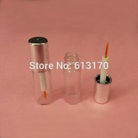 New arrival 1. 2ml Eyeliner tubes Clear Bottle Silver Cap Emp...