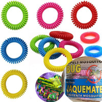Newest Mosquito Repellent Bracelet Stretchable Elastic Coil ...