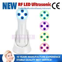Multifunktionshauptgebrauch tragbare No-Needle-Mesotherapie-Maschine für Hautpflege Rf-Gesichtsmaschine mit EMS-Ultraschall-Erschütterungs-Ion LED