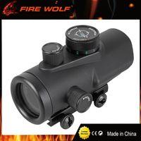 FIOLO DEL LOBO Vista táctica de la caza Visor holográfico 30 mm Vista del rifle del punto rojo Alcance 20 mm W / Montaje