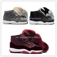 (With Box) Velvet Heiress Air Retro 11 mens basketball shoes...