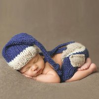Newborn Photography Props Baby Boys Girls Handmade Crochet K...