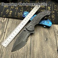 2017 New Browning B061 Folding knife 440C Blade All steel em...