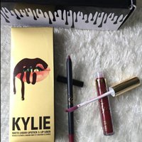 2016 newest Kylie Jenner Limited gold Birthday Edition Lip K...