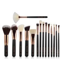 Wholesale- 15st Frauen beste Make-up-Pinsel-Set Kosmetik Make-up Pro Set Bürsten weiche Rouge Gesichtspuder Contouring Malwerkzeuge # 92143