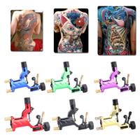 Dragonfly Rotary Tattoo Maschine Shader Liner 7 Farben sortiert Tatoo Motor Gun Kits Versorgung für Künstler