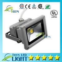 DHL IP65 Su Geçirmez 10 W Led Işıklandırmalı Açık Proje Lambası Güç Projektörler RGB Sıcak / Soğuk Beyaz 10 W COB Çip 85-265 V Süper Parlak ışık 00