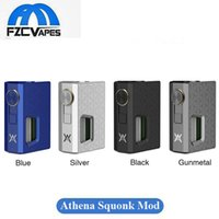 Authentique GeekVape Athena Squonk Box Mod 25mm Diamètre Alimentation Inutile Mod Mécanique Non Régulée vs Pulse BF Mod 100% Oriiginal Geek Vape