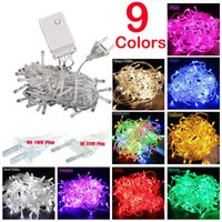 LED String Light 100 LED 10M Christmas Wedding Party Decorat...