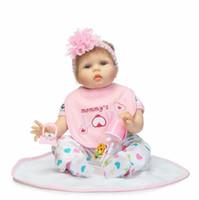 22 pulgadas real realista renacido bebés cuerpo de tela recién nacido princesa niña muñecas niños cumpleaños regalo de navidad
