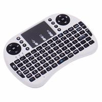 Wireless Rii I8 Fly Air Mouse Keyboard batería de iones de litio recargable remota Control remoto inalámbrico de 2.4GHz para S905X S912 TV Box X96 T95