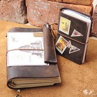 Toptan-Gezginler dizüstü gezgin günlüğü gezgin dizüstü kitapçık kalem kutusu