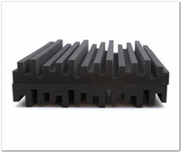Новое прибытие черный цвет акустическая пена большой размер 50*50*5 см студия пены звукопоглощение лечение звукоизоляционные пены стеновые панели