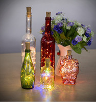 led strip 0. 75M 15LED Lamp Cork Shaped Bottle Stopper Light ...