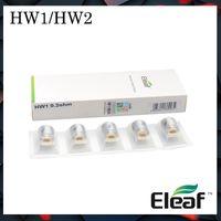 Ello için ELLO Mini Atomizer HW3 Kafa HW4 Başkanı için Otantik Eleaf HW Serisi Bobinler HW1-C Tek Silindir HW1 HW2'ye Çift Silindir 0.3ohm