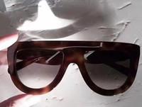 Asse WOMEN/'S oversize rotonda lente Cateye Occhiali da sole nero argento moda tendenza