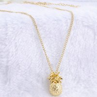 Wholesale- Tiny Pineapple Fruit Cute Charm Long Sweater Chain...