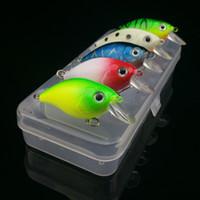Mini Fishing Lures 5pcs 3cm Holographic Eyes Floating