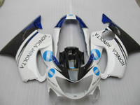 pièces de carénage de moulage par injection pour Honda CBR600 F4 1999 2000 carénages bleu blanc 99 00 mis CBR600F4 OT03