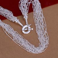 Venda por atacado - varejo menor preço presente de natal 925 moda jóias frete grátis colar N44