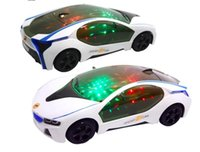 Baby Toys 3D Sports Car Model Car LED Toy With 3D Lights Sou...