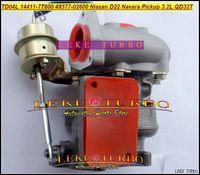 TD04L 14411-7T600 49377-02600 49377 02600 турбонагнетатель на Nissan Navara пикап Д22 NS25 поршеня TD27 QD32 QD32T 3.2 л с прокладками