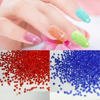 New 1440pcs bag 1. 2mm Many colors Zircon Rhinestones Micro R...