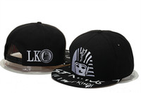 Lask Kings LK cuero Snapback sombreros Hip Hop para mujer deportes ajustables Gorras de béisbol Bones Gorras Homme Casquette