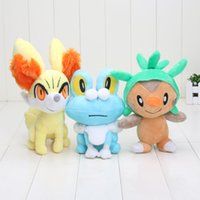 3pcs set New Piakchu Plush XY Series Chespin Fennekin Froaki...