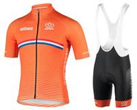 2021 Hombres summer Triatlón Países Bajos Equipo Nacional Holandés Ciclismo Jersey Mountain Bike Ropa Maillot Ciclismo Ropa Tamaño XXS-6XL L14