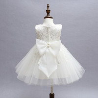 Wholesale- Vintage Baby Girl Lace Christening Gown 2017 Newb...