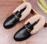 Hommes Marque Designer pointu Métal chaud en peluche Formelle Chaussures Mâle Homecoming Robe De Mariage Prom Sapato Social Masculino