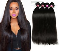 Z&F Natural Brazilian Hair Bundles Weave Bundles 100g pc Str...