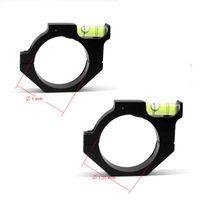 알로이 스코프 버블 레벨 30mm / 25mm Scope 레이저 시력 튜브 스코프 사냥 액세서리에 적합 무료 배송