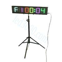 """Hot Koop 4 """"Gym Timer Meer Circle CrossFit Timer LED-interval Program Timer Countdown / Up Wandklok Hoge Helderheid Afstandsbediening"""