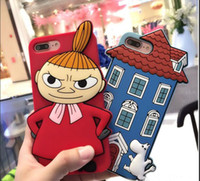 3D Cute cartoon Moomin & Scarecrow Soft Silicone cell phone ...