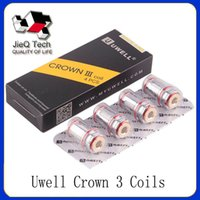 Uwell Crown 3 Replacement Coils 0. 25ohm 0. 5ohm SUS316 Parall...
