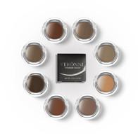 Spot VERONNI 8 cores maquiagem para resistir s weat e creme de tonificação de sobrancelha persistente creme nutritivo DHL GRÁTIS