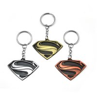 Superheld Batman Keychain Männer Trinket Super Hero Marvel Spiderman Auto Schlüsselanhänger Iron Man Schlüsselanhänger Halter Schmuck Geschenk Souvenirs
