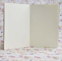الأعمال كرافت أوراق ملاحظة كتب جلد البقر ورقة دفاتر فارغة المفكرة كتاب خمر لينة الدفتر هالوين الدفاتر رسم ورقة