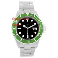 Luxury AAA Brand Wristwatches Sapphire Green Bezel Stainless...