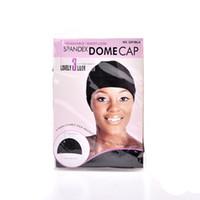 5 шт. / Лот WIG CAP CAP SPANDEX NET COP DOME для покрытия Парик для покрытия, удобный мягкий растягивающийся черный парик для защиты волос