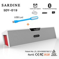 Wholesale- 10W Big Power Wireless Bluetooth Speaker Sardine ...