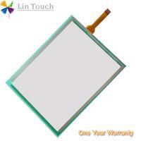 Touchscreen NOVO da membrana do painel da tela de toque do PLC de XBTGT2110 HMI usado para reparar o écran sensível
