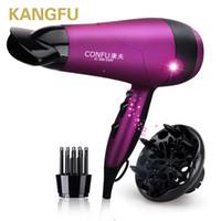 الجملة- KF3098 مجفف شعر المهنية ضربة مجفف مجفف لصالونات أيوني الشعر المنفاخ المنزلية عالية الطاقة 2200 واط