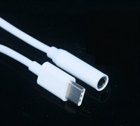 11 سنتيمتر محول الصوت ذكر نوع- c نوع c إلى 3.5 ملليمتر جاك أنثى الصوت aux كابل covertor tpe 60 قطع 1.0 جيجابايت النحاس od 3.0 الأبيض 200 قطعة / الوحدة