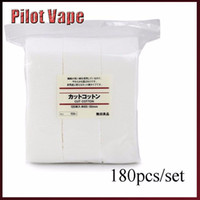 Wholesale- 20pcs organic Japanese cotton For RDA RBA Atomizer...