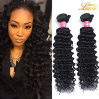 Дешевые 7A бразильские человеческие волосы глубокой волны пучки индийских волос расширение высокого качества бразильские девственные человеческие волосы глубокий ткать естественный цвет